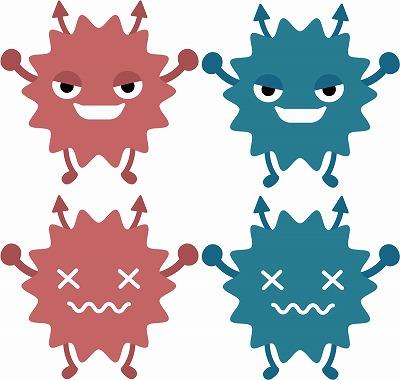 ヘルペスウイルスのイメージ