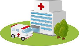 命に関わる性病で入院するイメージ