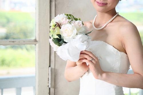 ブライダルチェックを済ませて安心して結婚する花嫁