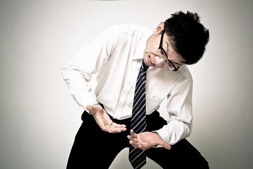 疥癬で股間を掻きたくてもかけない男性