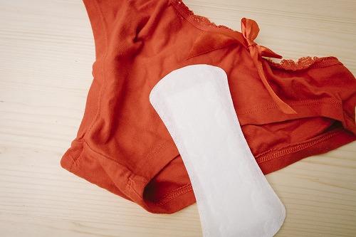 パンツと生理用品
